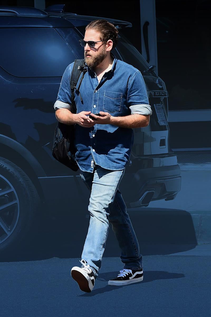 e953d539be1 Jonah Hill Just Mastered Spring s Most Effective Style Move