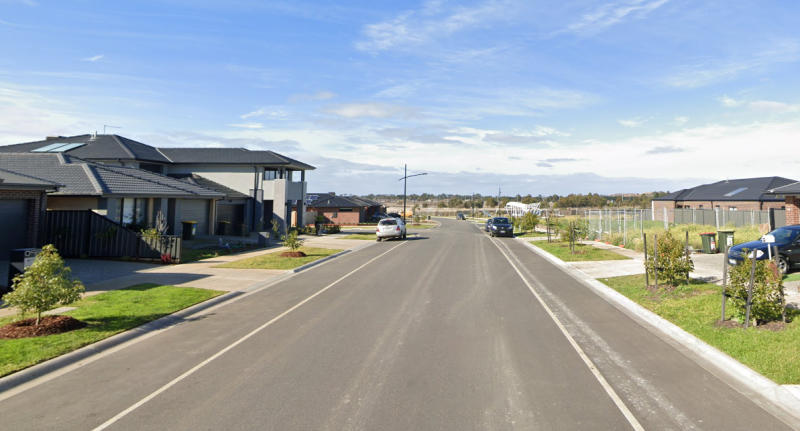 Klandy Drive at Kalkallo is pictured.
