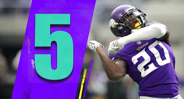 <p>Latavius Murray was fantastic in a 155-yard day on Sunday. It says something about the depth of the Vikings that they can be without Dalvin Cook, and can just plug in someone like Murray. (Mackensie Alexander) </p>