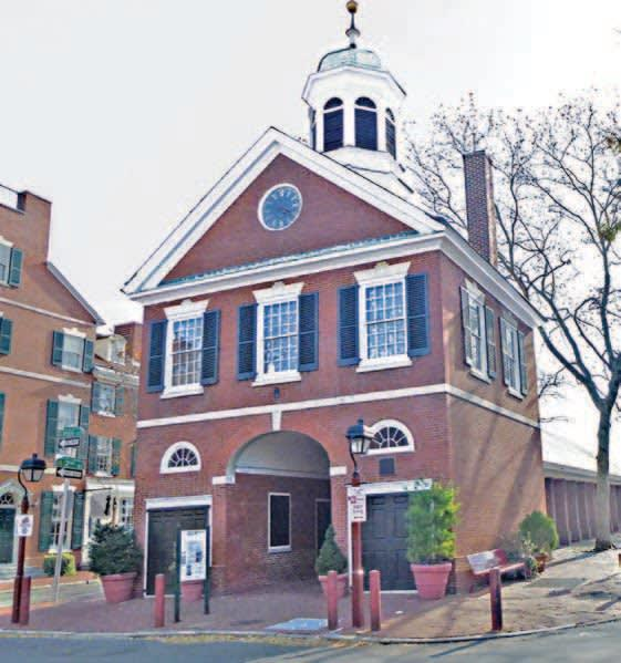 """<div class=""""inline-image__caption""""><p><em>The New Market, was a clearinghouse of Patriot intelligence in and out of Philadelphia.</em></p></div> <div class=""""inline-image__credit"""">Henry R. Schlesinger</div>"""