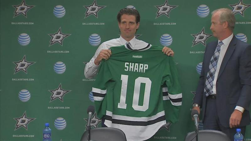 best sneakers 33e08 8d6c0 Patrick Sharp: Dallas' youth 'reignited passion' to play