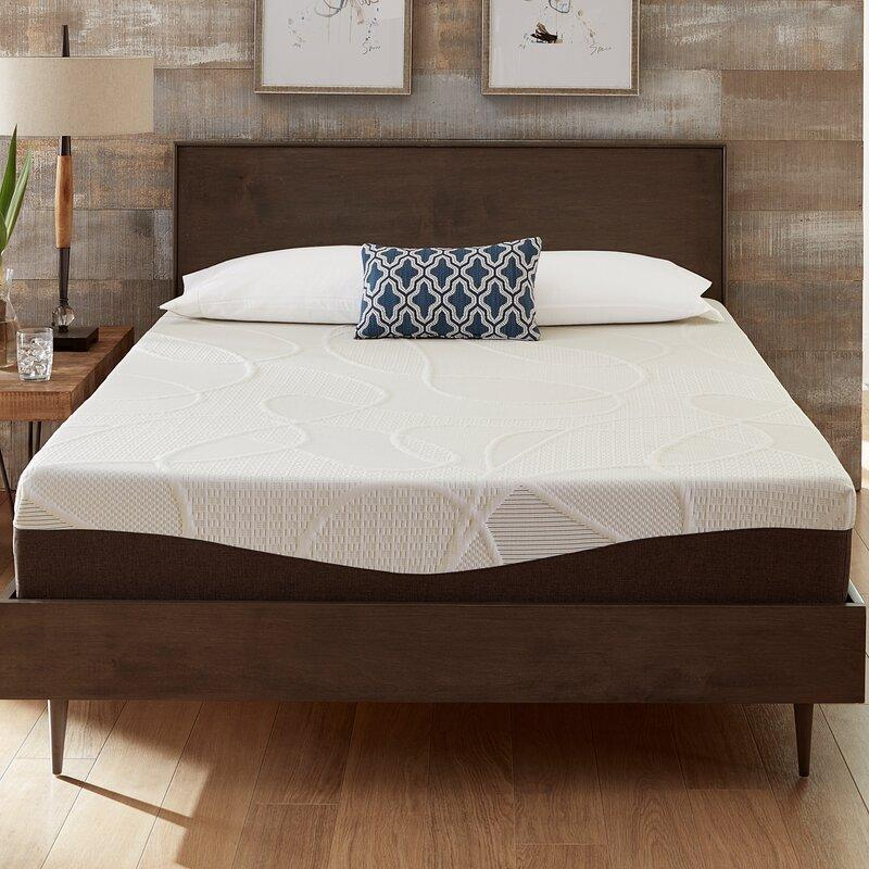 "Alwyn Home 10"" Firm Gel Memory Foam Mattress (Photo: Wayfair)"