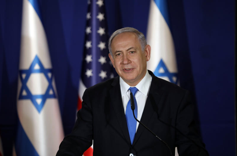 Israeli PM vows to 'extend sovereignty' to West Bank settlements