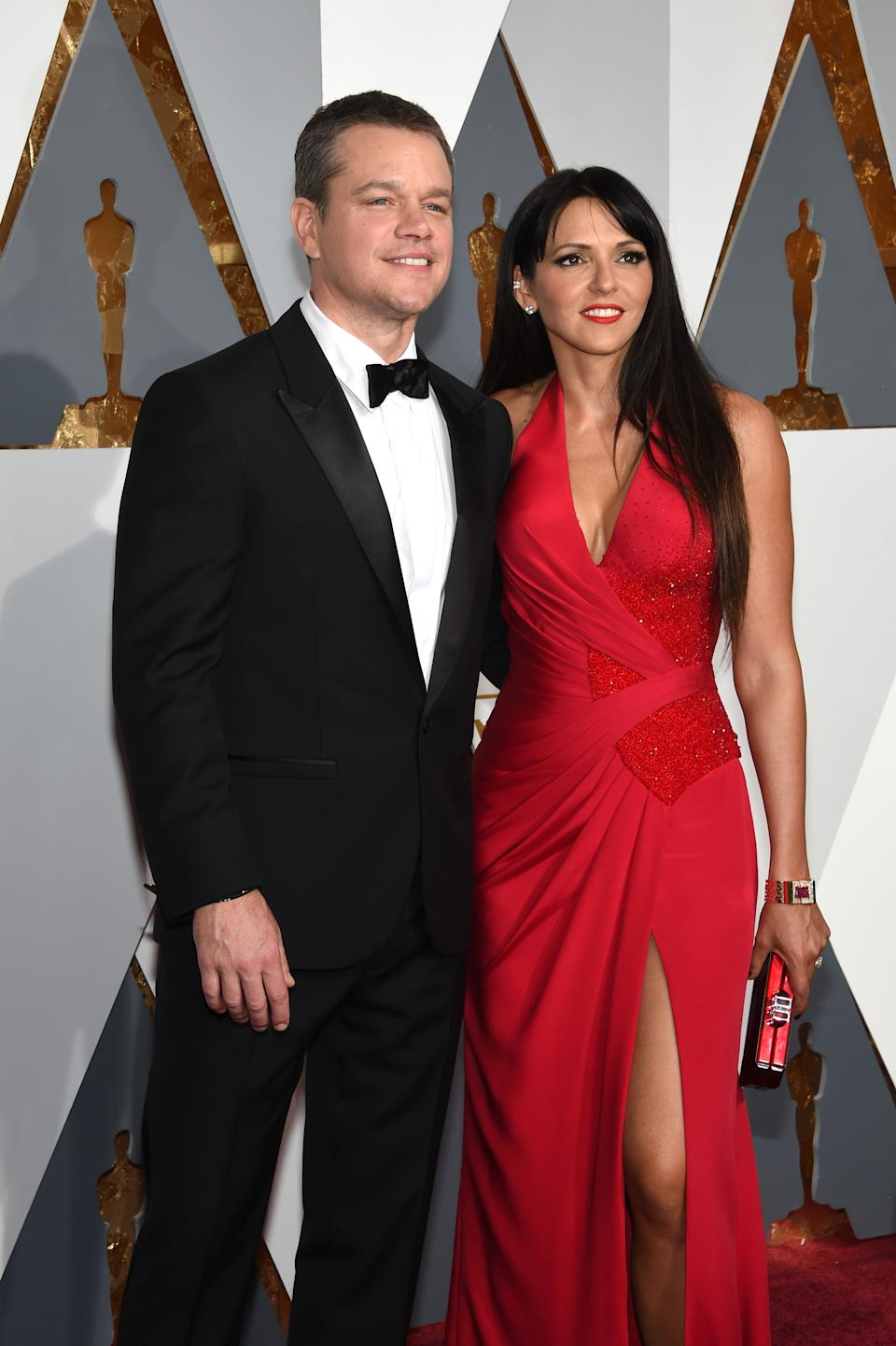 Matt and his wife Luciana are known fans of Australia and will no doubt enjoy their time living Down Under. Photo: Getty