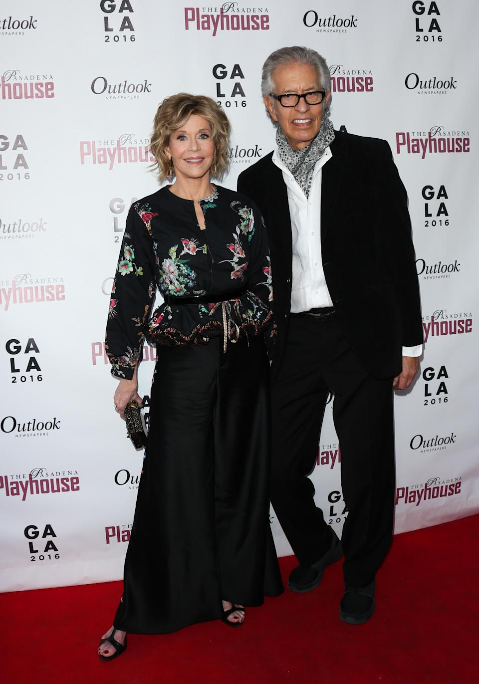Jane Fonda and music producer Richard Perry, pictured here in April 2016, announced the end of their eight-year romance in January 2017. (Photo: Paul Archuleta/FilmMagic)