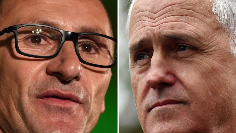 Blue in the Liberals as Greens see red