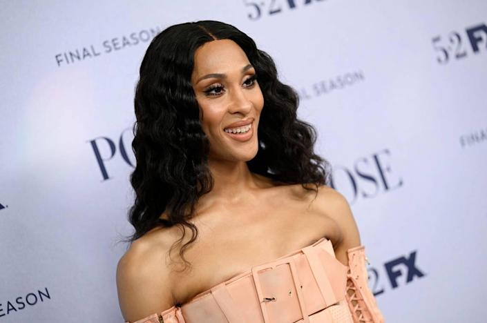 """Actor Mj Rodriguez attends FX's """"Pose"""" third and finale season premiere at Jazz at Lincoln Center on Thursday, April 29, 2021, in New York."""