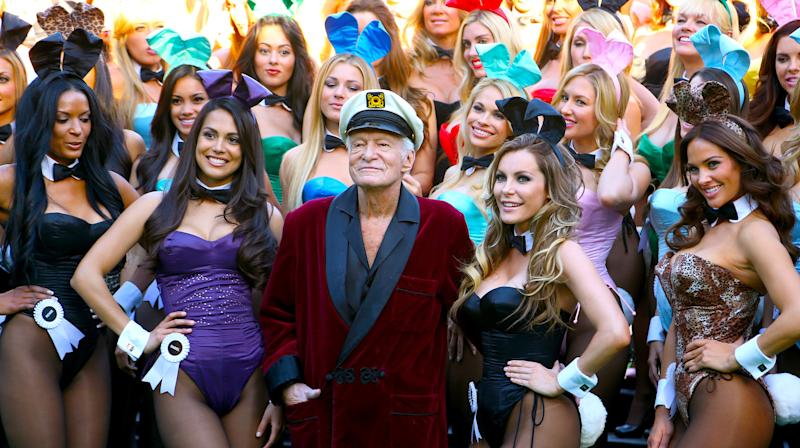 Celebs, Bunnies And Porn Stars React To Hugh Hefner's Death