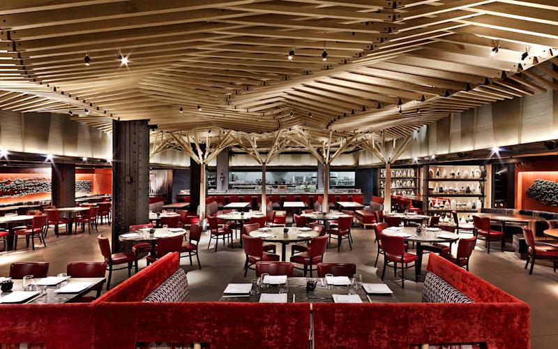 The Nobu Downtown dining room - ERIC LAIGNEL