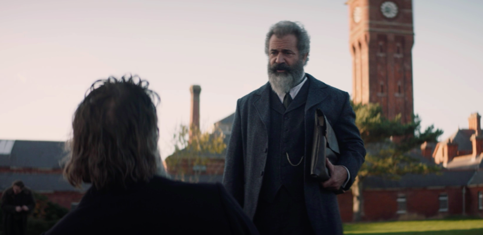 Mel Gibson in The Professor and the Madman (Credit: Vertical)