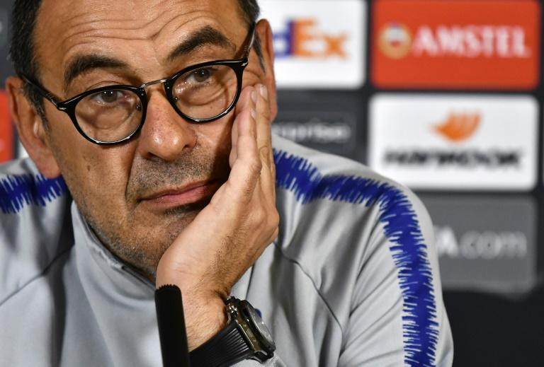 Maurizio Sarri's Chelsea future remains in doubt ahead of the Europa League final