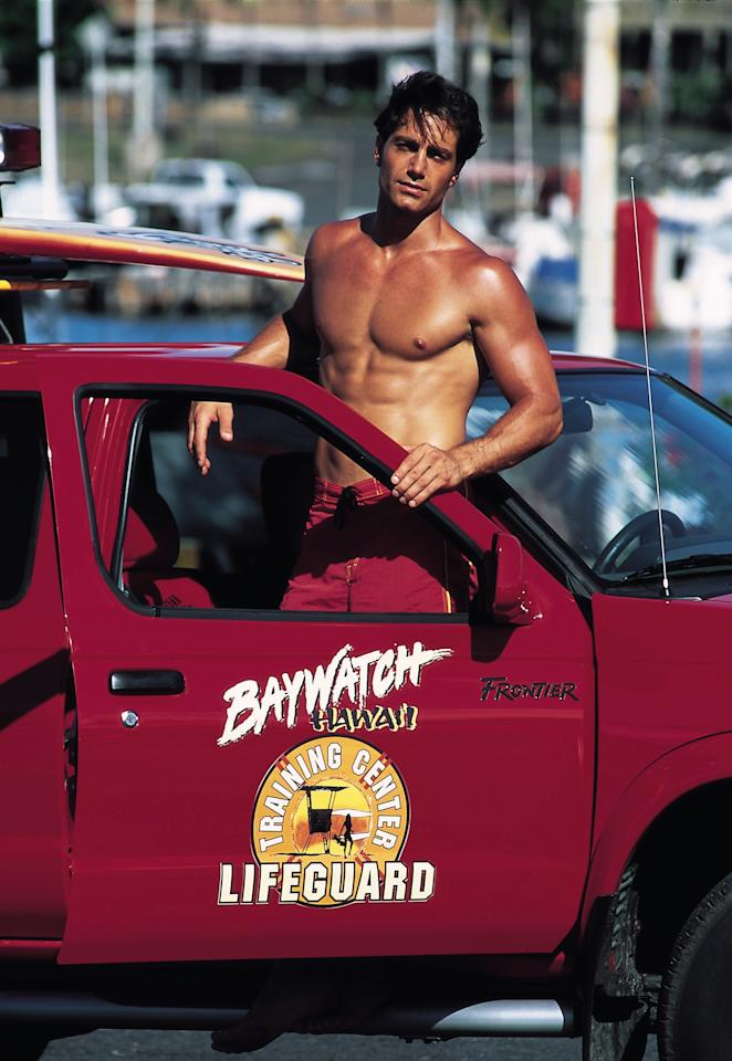 BAYWATCH HAWAII, Michael Bergin, 1999-2001