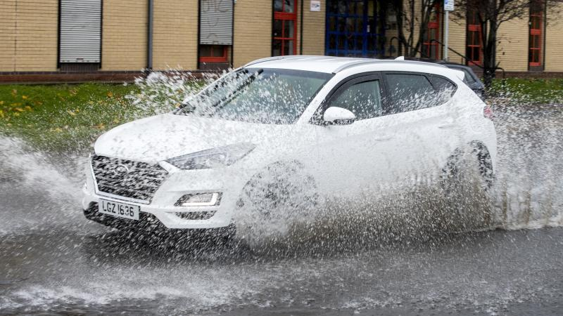 Serious flooding closes roads in NI