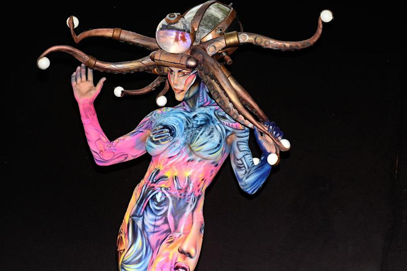 These Stunning Creations From The World Body Painting Festival Are Like No Art You Ve Ever Seen Before