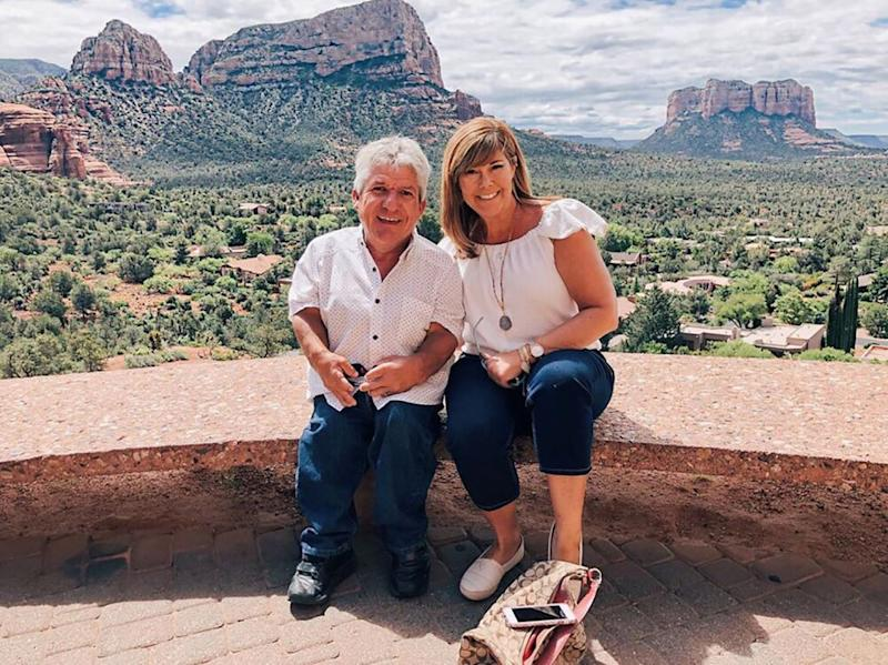 Matt Roloff and Caryn Chandler | Matt Roloff/Instagram
