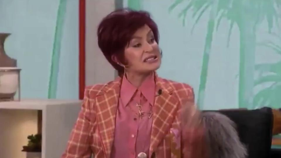 Sharon Osbourne shocked this week after showing public support of Piers Morgan's comments about Meghan Markle after his shock exit from Good Morning Britain earlier this week. Photo: Twitter