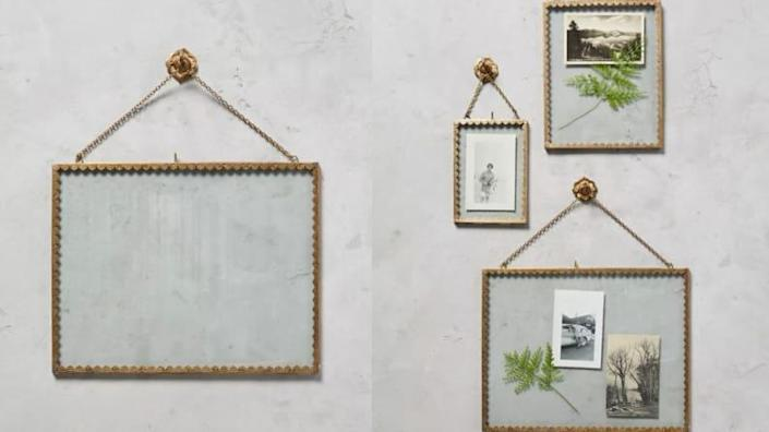 These frames can hold more that just pictures.