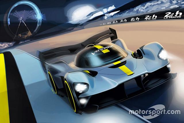 "Aston Martin Valkyrie hypercar rendering <span class=""copyright"">Uncredited</span>"