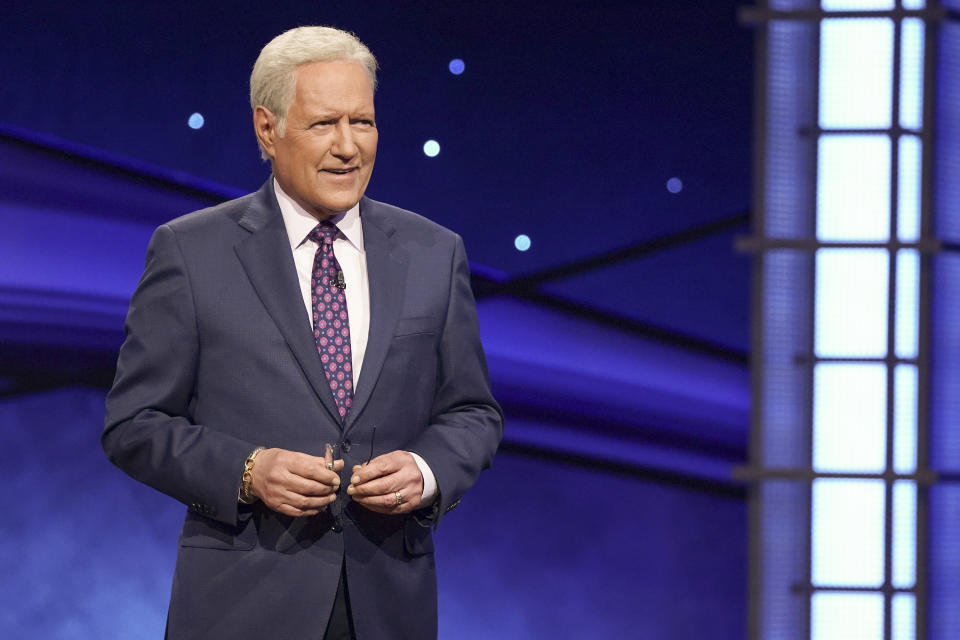 Alex Trebek died at age 80 after battling pancreatic cancer. (Eric McCandless/ABC via Getty Images)