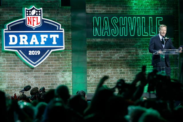 The NFL draft is headed to Cleveland and Kansas City. (Getty Images)