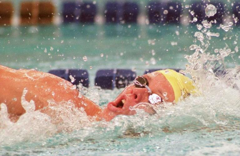 Dual Olympic gold medalist Kieren Perkins is one of Australia's greatest distance swimmers