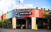 """<p>If you're looking for a charming, old-school drive-in diner in Hawaii, there is Honolulu's Rainbow Drive-In. Head here for the Hawaiian specialties, like Spam sandwiches and the Loco Moco, a hamburger patty served with a sweet brown gravy, rice and <a href=""""https://www.thedailymeal.com/cook/eggs-101?referrer=yahoo&category=beauty_food&include_utm=1&utm_medium=referral&utm_source=yahoo&utm_campaign=feed"""" rel=""""nofollow noopener"""" target=""""_blank"""" data-ylk=""""slk:an egg"""" class=""""link rapid-noclick-resp"""">an egg</a>.</p>"""