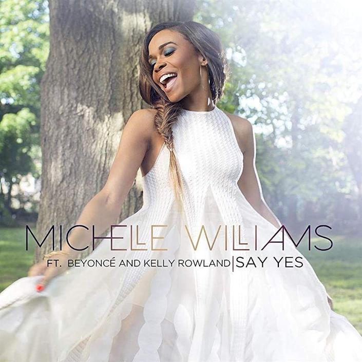 "<p>On this 2014 gospel song, <a href=""https://www.oprahmag.com/life/relationships-love/a24644653/michelle-williams-chad-johnson-interview/"" rel=""nofollow noopener"" target=""_blank"" data-ylk=""slk:Michelle Williams"" class=""link rapid-noclick-resp"">Michelle Williams</a> collaborated with her former Destiny's Child band members, <a href=""https://www.oprahmag.com/entertainment/a25369340/beyonce-jay-z-global-citizen-festival-2018-south-africa/"" rel=""nofollow noopener"" target=""_blank"" data-ylk=""slk:Beyoncé"" class=""link rapid-noclick-resp"">Beyoncé</a> <br> and <a href=""https://www.oprahmag.com/life/health/a23453714/kelly-rowland-mental-health-interview/"" rel=""nofollow noopener"" target=""_blank"" data-ylk=""slk:Kelly Rowland"" class=""link rapid-noclick-resp"">Kelly Rowland</a>. The message promoted throughout this uplifting tune is that you can overcome any trial or tribulation through positive thinking and prayer. </p><p><a class=""link rapid-noclick-resp"" href=""https://www.amazon.com/Say-Yes-Beyonc%C3%A9-Kelly-Rowland/dp/B00KLULYCC/?tag=syn-yahoo-20&ascsubtag=%5Bartid%7C10072.g.23118484%5Bsrc%7Cyahoo-us"" rel=""nofollow noopener"" target=""_blank"" data-ylk=""slk:LISTEN NOW"">LISTEN NOW</a></p>"