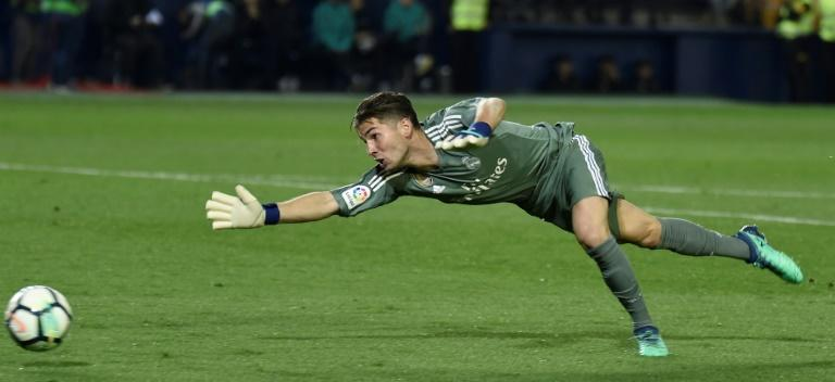 Zinedine Zidane son Luca made his Real Madrid debut in goal