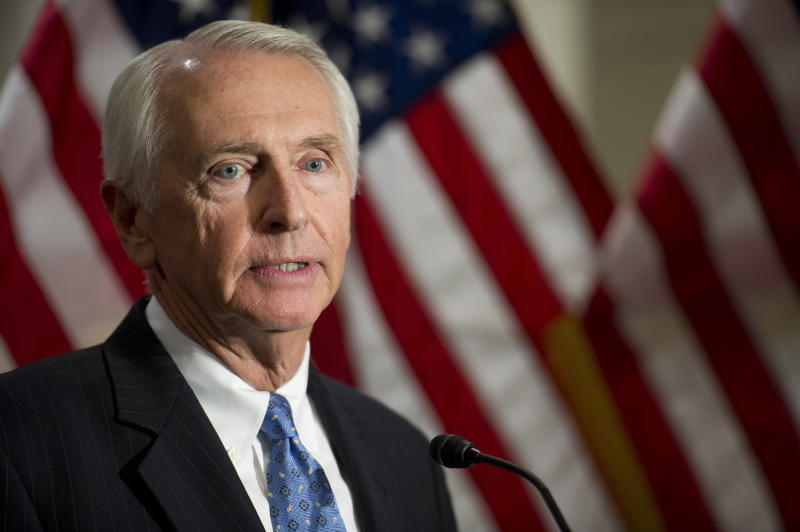 """We aren't starting from scratch,"" Steve Beshear warned his fellow Democrats. (Douglas Graham/CQ Roll Call via Getty Images)"