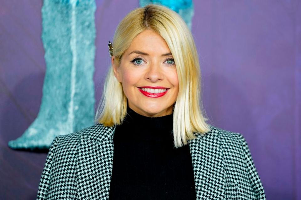 Holly Willoughby has shared a rare glimpse of her youngest son, while also opening up about dyslexia, pictured in November 2019. (Getty Images)