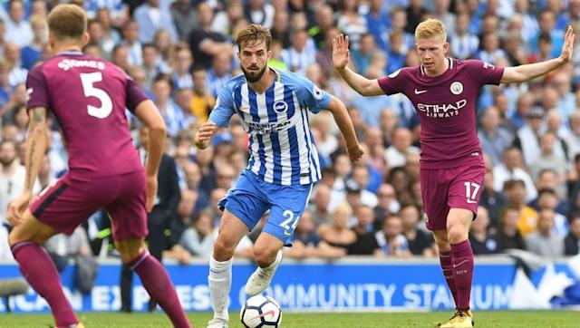 <p>Brighton aren't going to have enough of the ball to warrant playing two players up front, so a switch to a five-man midfield is necessary for success this season.</p> <br><p>It may seem counterintuitive for Chris Hughton, who gained promotion with Brighton thanks to his attacking tactics, but certainly for the early stages of the season the Seagulls need to give themselves a chance.</p> <br><p>Including Knockaert and dropping Gross would likely give Brighton a stronger platform and allow the south coast side to create more chances for their striker up front, whether it's Hemed, Glenn Murray or Sam Baldock.</p>