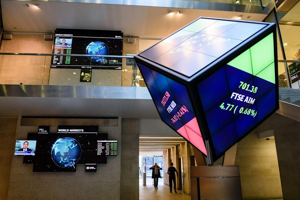 <p>The FTSE 100 is forecast to open higher on Friday</p> (Leon Neal/AFP/Getty Images)