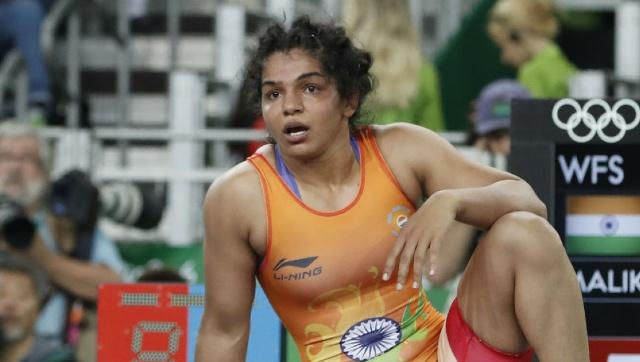 Rio Games medallist and Khel Ratna awardee Sakshi Malik applied for an Arjuna Award this year, but was denied by the sports ministry. AFP/File