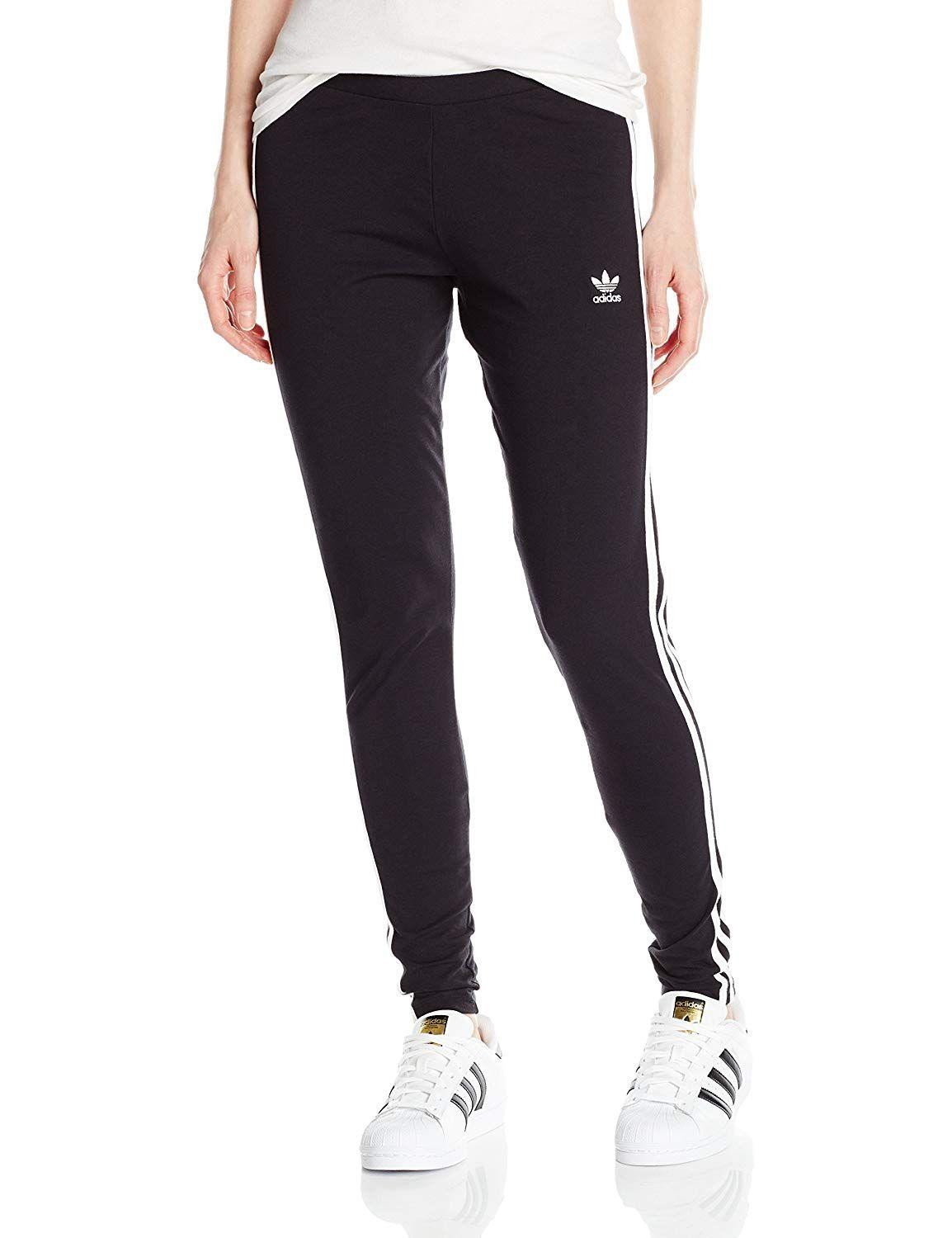 """<h3><a href=""""https://www.amazon.com/adidas-Originals-Womens-3-Stripes-Leggings/dp/B072JTX8FP"""" rel=""""nofollow noopener"""" target=""""_blank"""" data-ylk=""""slk:Adidas 3-Stripes Leggings"""" class=""""link rapid-noclick-resp"""">Adidas 3-Stripes Leggings</a></h3> <p>4.2 out of 5 stars and 1,246 reviews</p> <p><strong>Promising Review:</strong> Reviewers are split between thinking they got a good deal on a pair of brand name leggings and thinking they should be receiving a higher quality item for the same reason. However, <a href=""""https://www.amazon.com/gp/customer-reviews/R16NXDRDZI992H"""" rel=""""nofollow noopener"""" target=""""_blank"""" data-ylk=""""slk:one user"""" class=""""link rapid-noclick-resp"""">one user</a> claims they're a good buy so long as you don't intend to do any high-impact workouts in them: """"I ordered these for a bar crawl that was 90s themed. They were perfect for that. The material is see through so that's something to take into consideration. They were pretty comfortable too. I'm not a fan of working out in leggings with this type of material though. Now I just wear them around my house with an oversized sweatshirt to lounge around in.""""</p> <br> <br> <strong>Adidas</strong> 3-Stripes Leggings, $29, available at <a href=""""https://www.amazon.com/adidas-Originals-Womens-3-Stripes-Leggings/dp/B072JTX8FP"""" rel=""""nofollow noopener"""" target=""""_blank"""" data-ylk=""""slk:Amazon"""" class=""""link rapid-noclick-resp"""">Amazon</a>"""