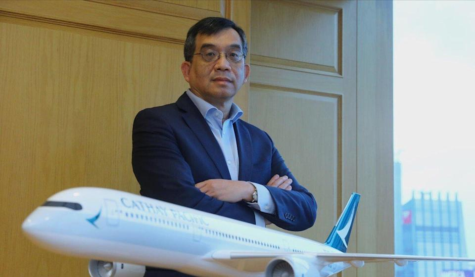 Augustus Tang, CEO of Cathay Pacific. Photo: Dickson Lee