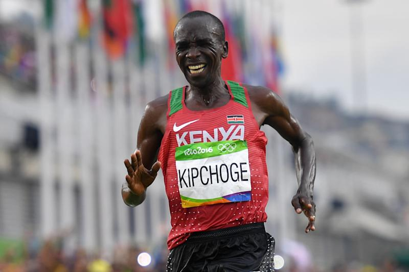 Eliud Kipchoge's fastest marathon won't be recognised