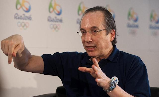 Leonardo Gryner, the chief executive officer of the Rio 2016 organizing committee, pictured in 2012, has been arrested and faces charges of corruption, money laundering and criminal association (AFP Photo/WILL OLIVER)