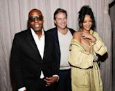 <p>Over on her left hand, Rihanna has the word 'love' inscribed on her middle finger. </p>