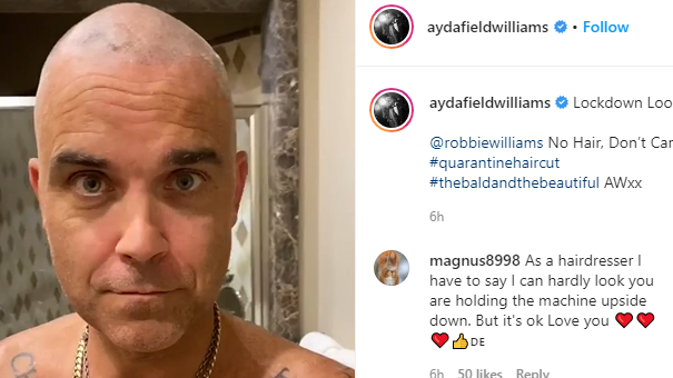 Screengrab from Ayda Williams' Instagram