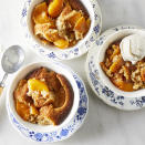 <p>This easy peach cobbler uses canned peaches to speed up prep time. A fluffy, tender cake envelops the tender peaches, creating an incredibly simple fruit dessert you can enjoy year-round.</p>