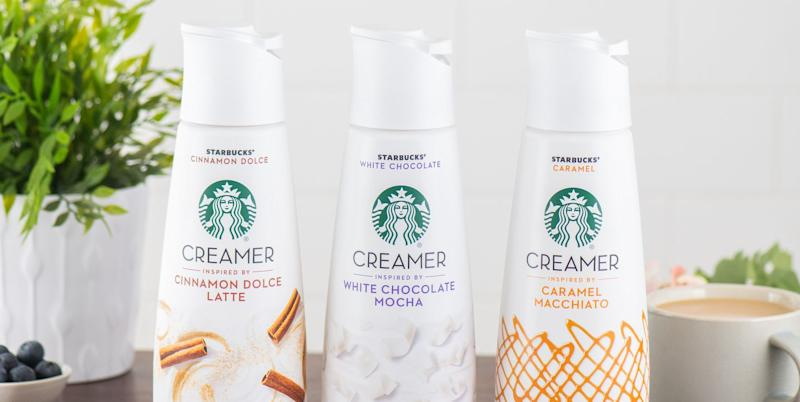Starbucks Is Releasing Coffee Creamers So You Can Make Your