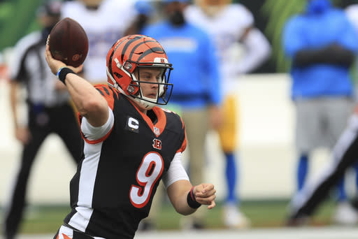 Burrow, Bengals hit road vs Browns on NFL's 100th birthday