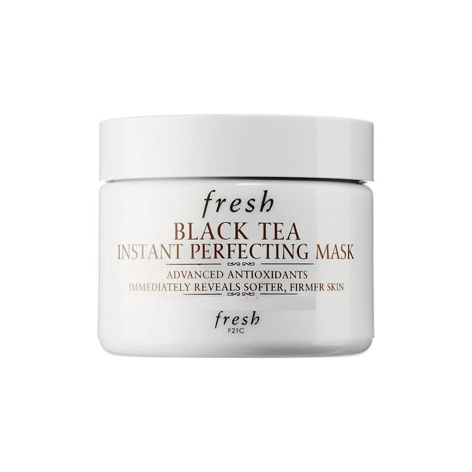 """<p>It takes a lot for a mask to call itself a not one, not two, but <em>three</em>-time Best of Beauty winner. <a href=""""https://www.allure.com/review/fresh-black-tea-perfecting-mask?mbid=synd_yahoo_rss"""" rel=""""nofollow noopener"""" target=""""_blank"""" data-ylk=""""slk:Fresh's Black Tea Instant Perfecting Mask"""" class=""""link rapid-noclick-resp"""">Fresh's Black Tea Instant Perfecting Mask</a> is an all-star in our book due to its potent antioxidant-rich formula, and the fact that it leaves skin feeling """"rose-petal soft.""""</p> <p><strong>$92</strong> (<a href=""""https://shop-links.co/1649917944108762755"""" rel=""""nofollow noopener"""" target=""""_blank"""" data-ylk=""""slk:Shop Now"""" class=""""link rapid-noclick-resp"""">Shop Now</a>)</p>"""
