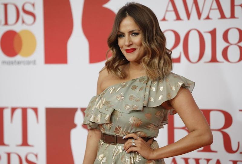 "Caroline Flack is being remembered by the ""Love Island"" cast and crew. (Photo: TOLGA AKMEN/AFP via Getty Images)"