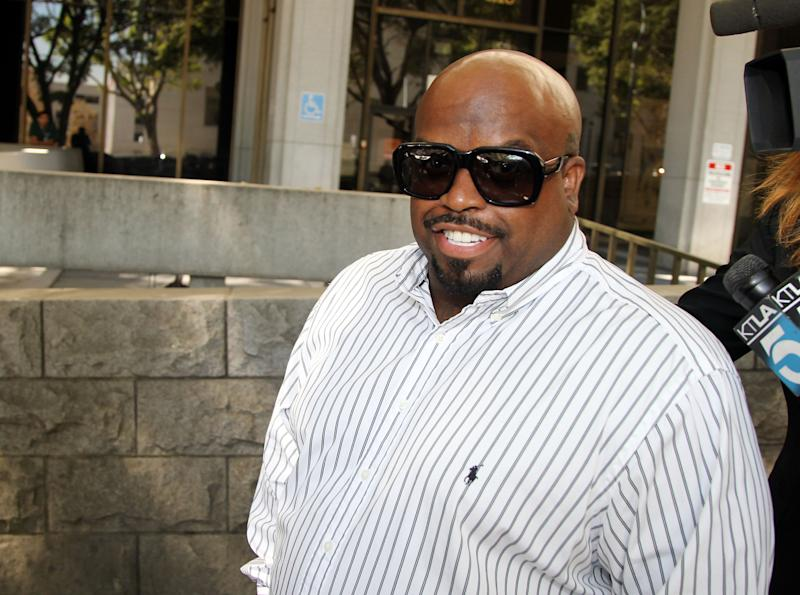 Singer CeeLo Green is picture on August 29, 2014 in Los Angeles, California