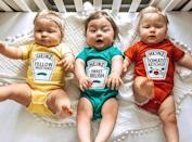<p>This <span>Triplet Halloween Costumes</span> ($48, originally $56) features our favorite condiments.</p>