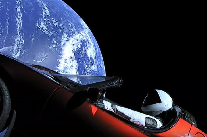 elon musk starman space adventure spacex falcon heavy