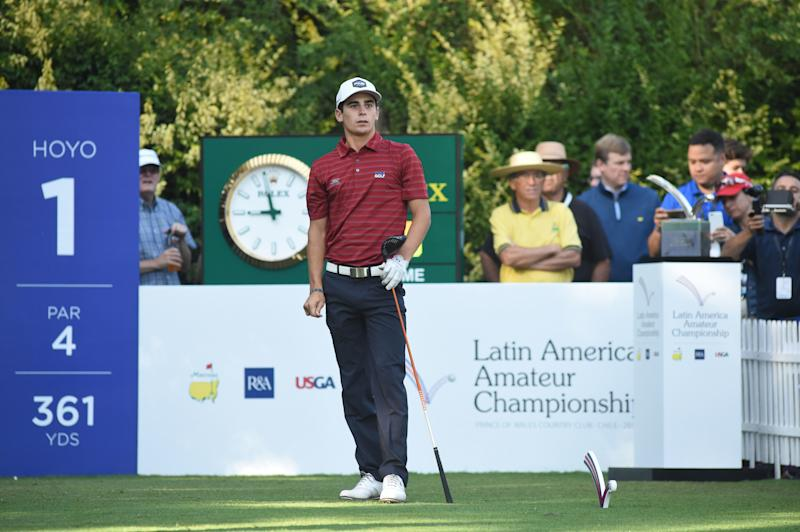 Ortiz has 1-shot lead in Latin America Amateur