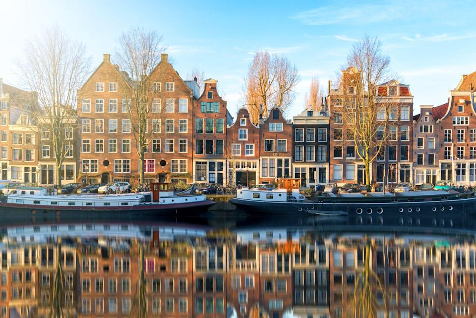 Herengracht canal - getty