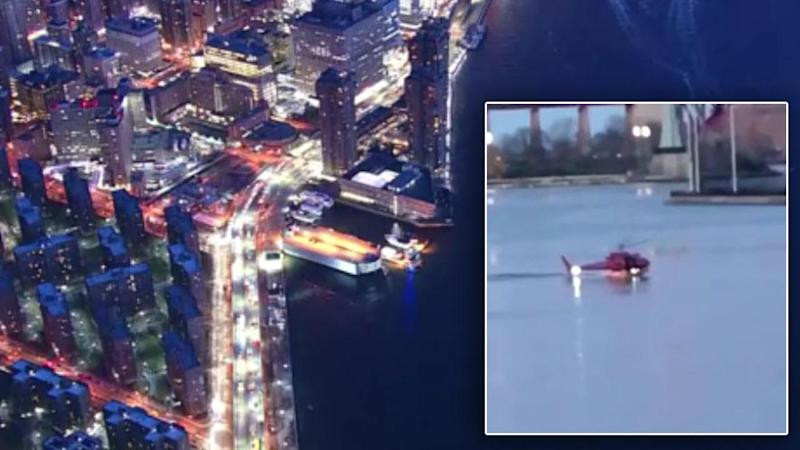 Pilot Survives Crash That Killed All 5 Passengers in New York's East River